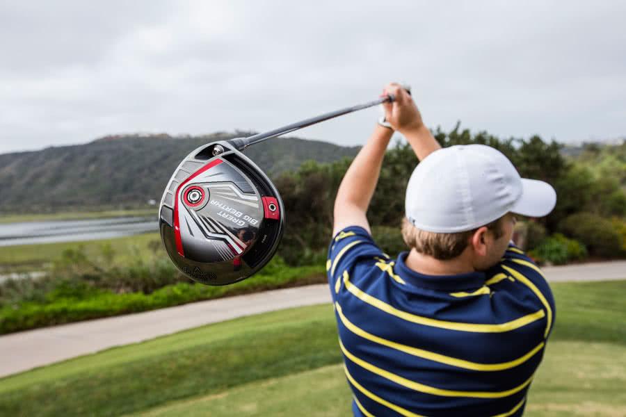 Callaway Golf Et Son Driver Great Big Berthane Perdez Plus Un Mètre