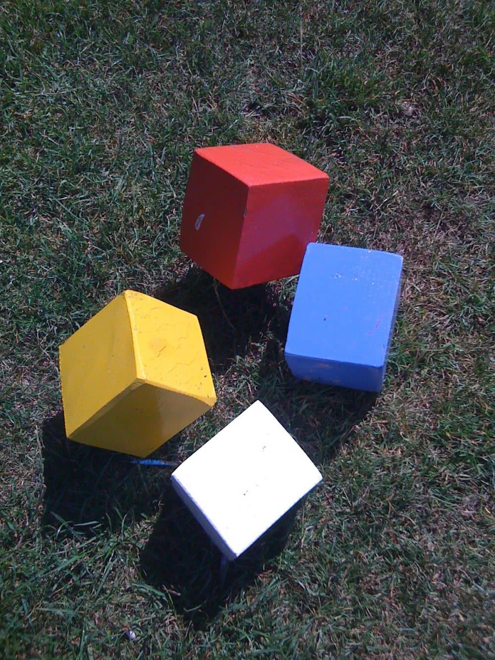 4 couleurs boules d edépart