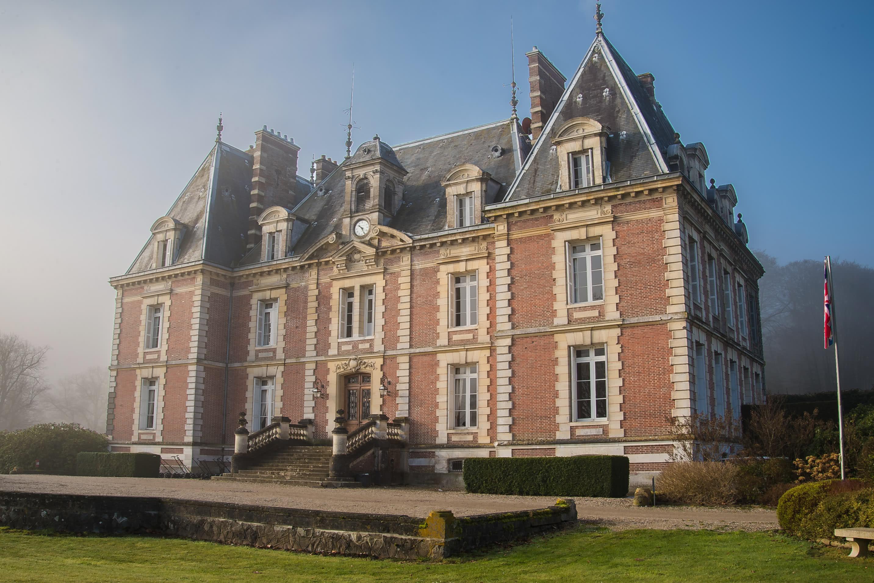 Le clubhouse du Golf de Saint-Saens**** en Normandie