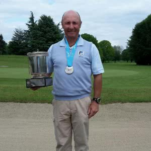 Didier Clerget, Champion de France Senior de golf