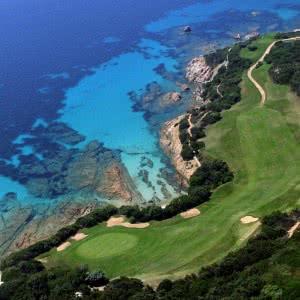 Le golf de Spérone en Corse du sud