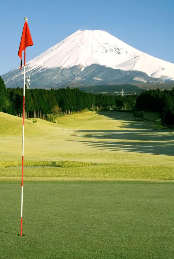 Le Mont Fuji en ligne de drive