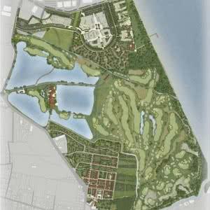 Projet du Garden Golf de Villenave D'Ornon à date