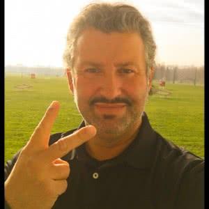 Portrait de Stéphane Barber, I Love Golf Tour, un événement SB Productions