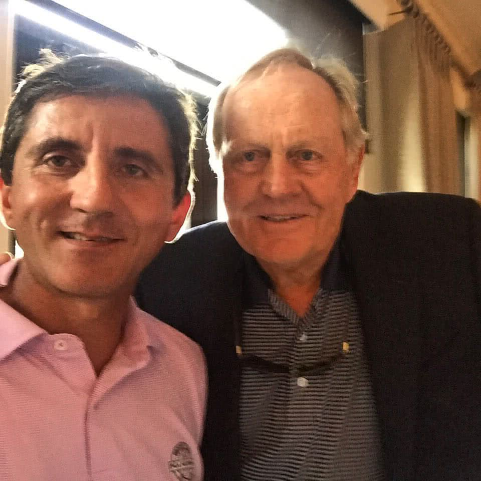 Michel Teichet et Jack Nicklaus