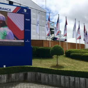 HNA Open de France 2017, La Chine et le golf