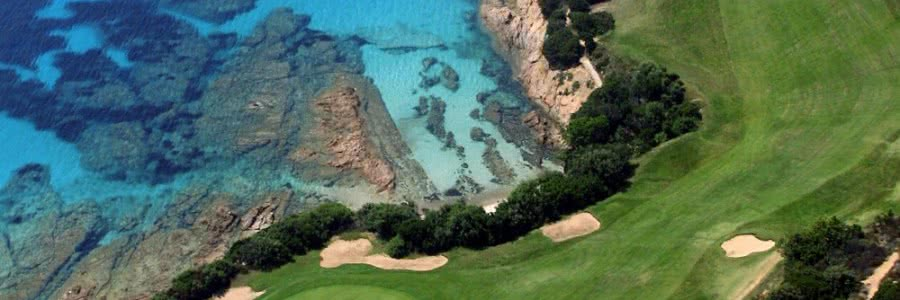 7 Golfs courses in Corsica Island