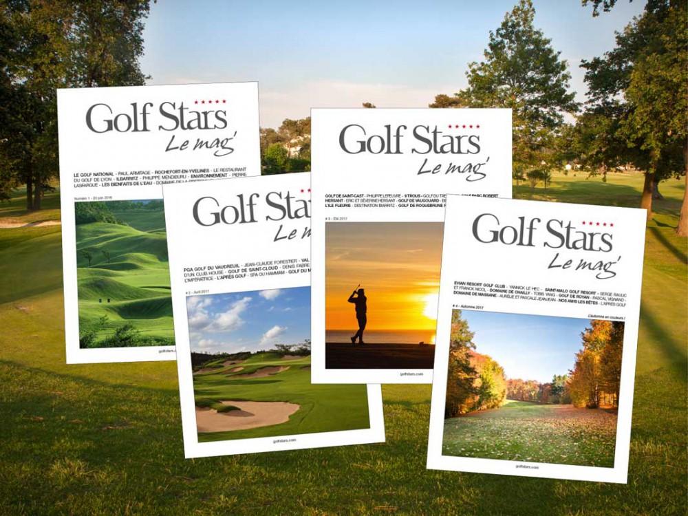 Golf Stars Le Magazine