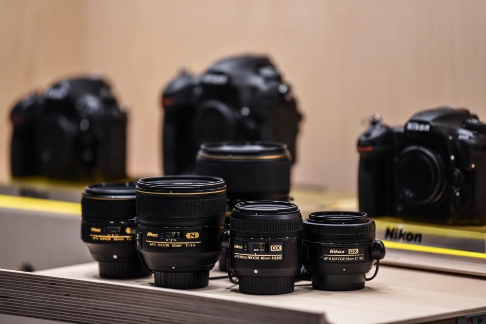 Toute la gamme présente au Nikon Plaza