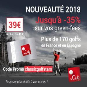 LeClub Golf, offre irrésistible avec Golf Stars