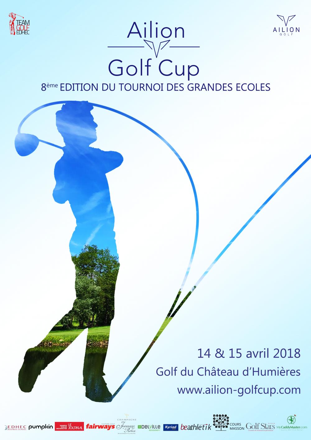 Affiche Ailion Golf Cup 2018 V2