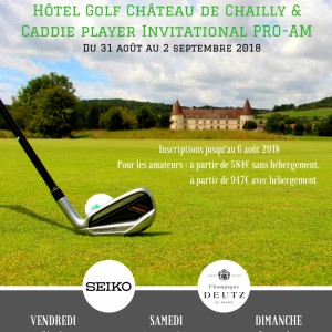 Caddie Player Invitational Pro Am 2018 à Chailly