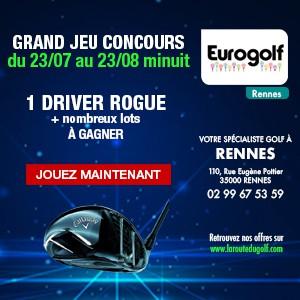 Eurogolf Rennes, le jeu concours de l'été