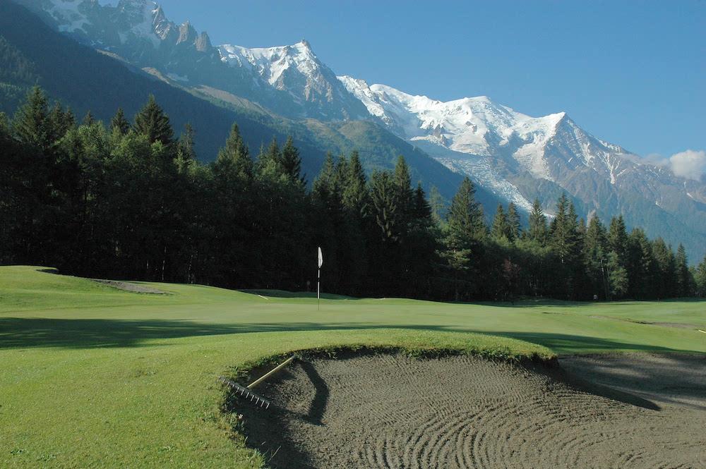 Le Golf de Chamonix Mont Blanc