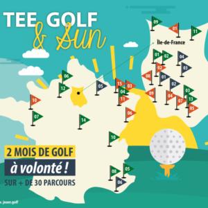 UGolf été 2019 : Tee, Golf & Sun, jouez sans limite !