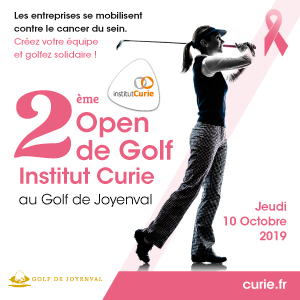 2ème Open de Golf Institut Curie  le 10 octobre 2019