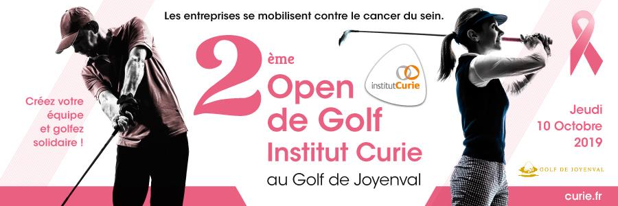 2ème Open de Golf Institut Curie  le 10 octobre 2019