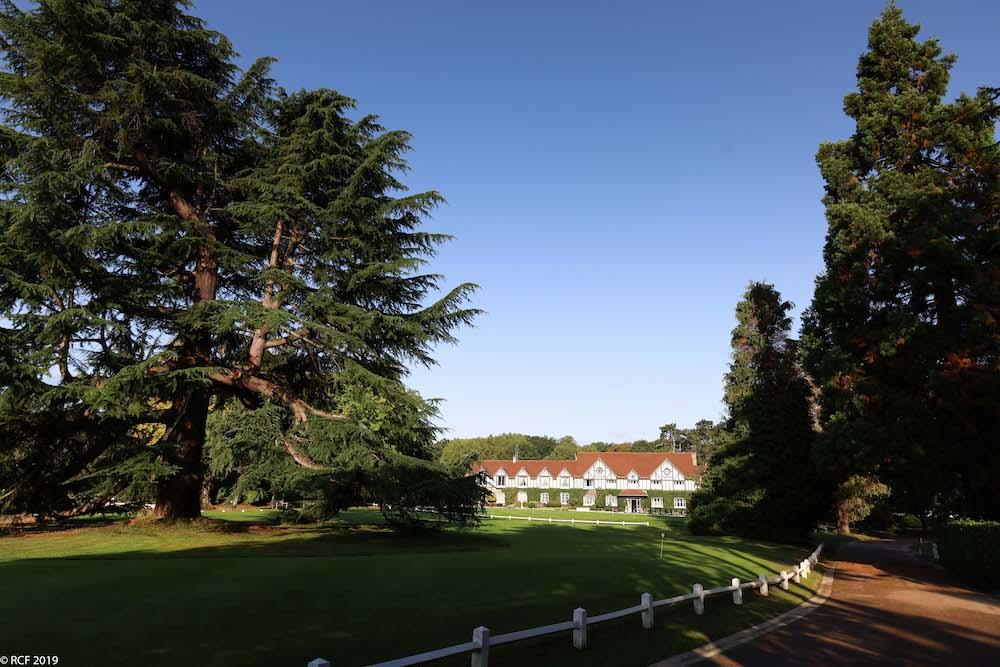 Le célèbre cèdre du Golf RCF La Boulie