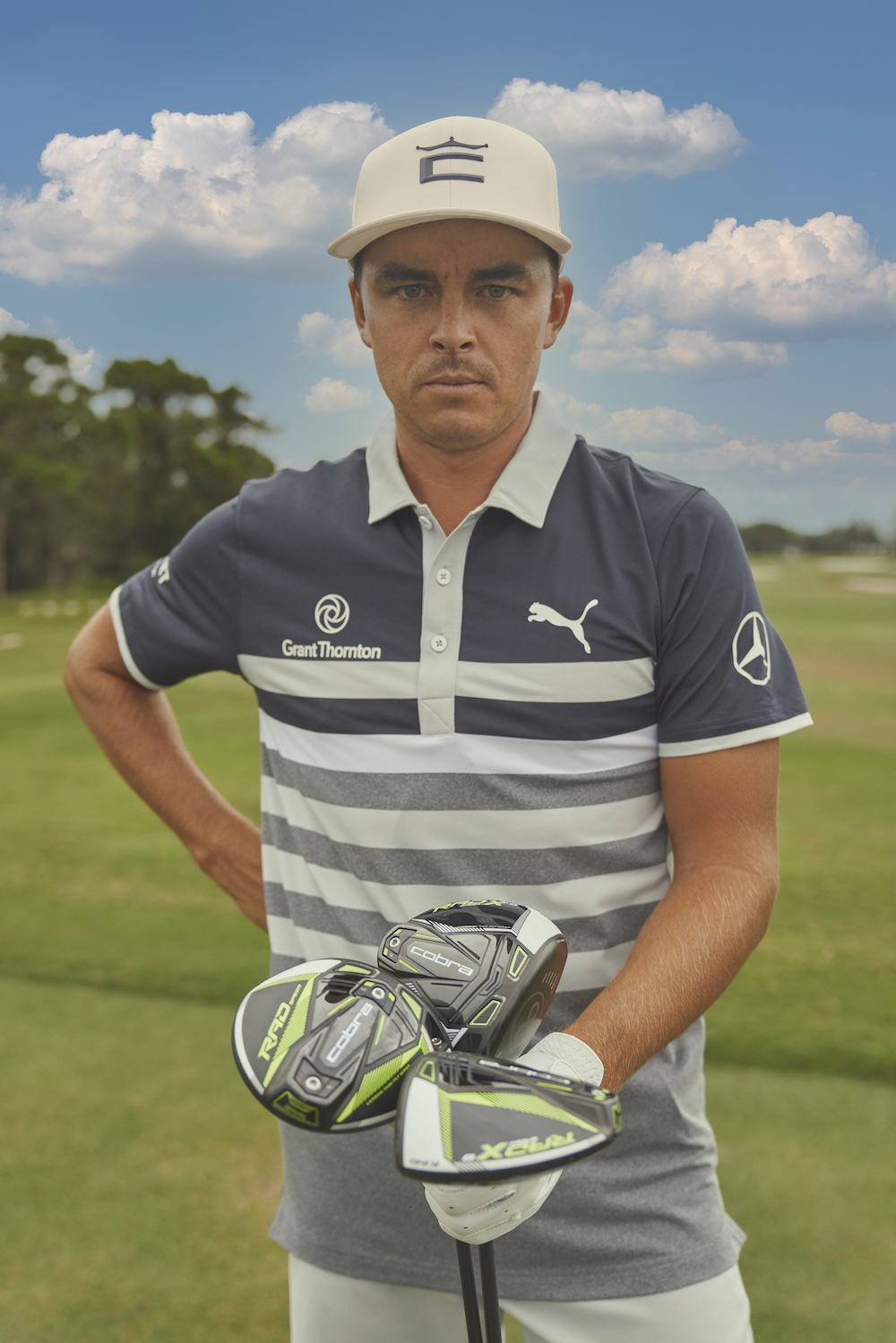 Rickie Fowler et les clubs Radpseed