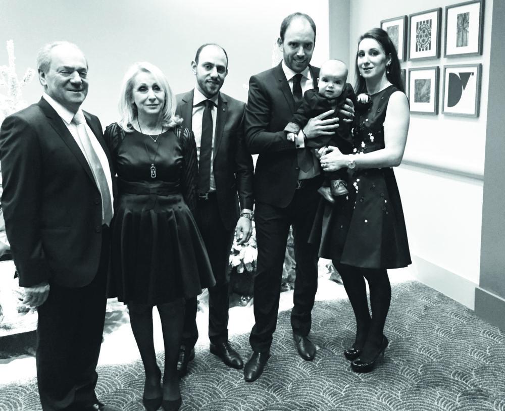 Mathieu Sevestre et sa famille à Roquebrune resort
