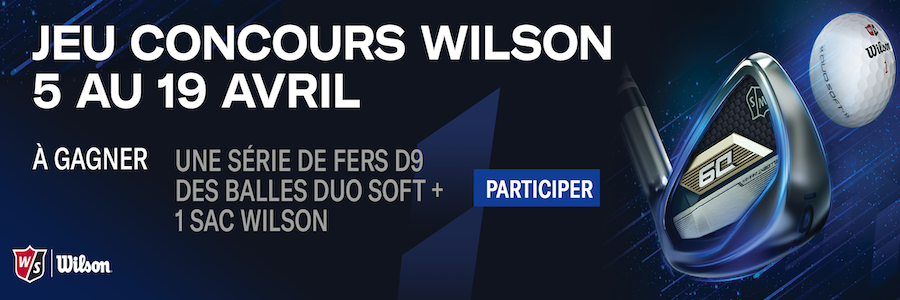 Jeu-concours Wilson Golf printemps 2021