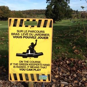 L'entretien d'un parcours de golf en France