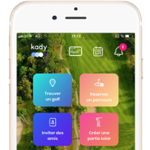 L'Appli Kady FFGolf Digital  a un an
