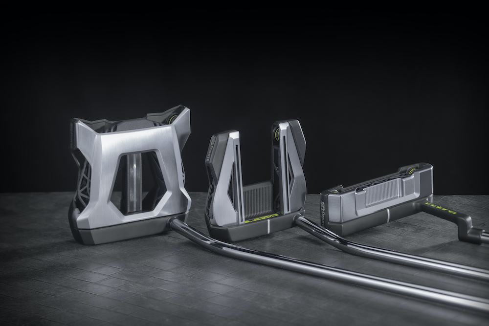 Les 3 putters Cobra Golf 3D printed