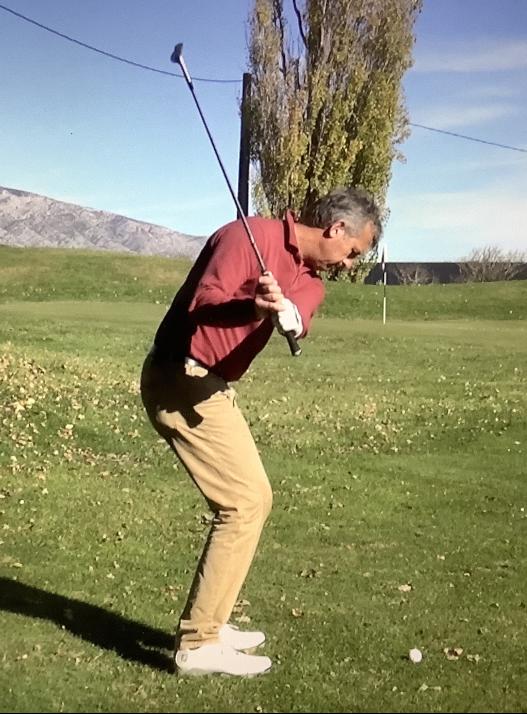 le coup levé au golf