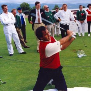 Severiano Ballesteros, une légende du golf