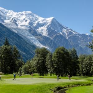 Histoire de... Golf de Chamonix MontBlanc****