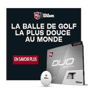 Les balles de golf Duo Soft +  WILSON 2021