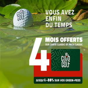 LeClub Golf se met en 4 pour les golfeurs